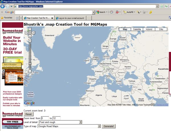 MGMaps - Stored Maps Tutorial on