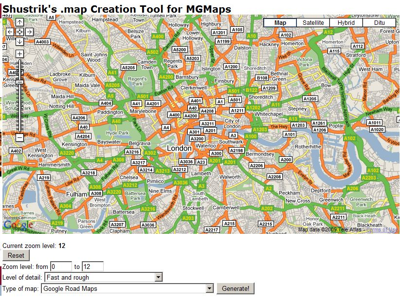 MGMaps - Stored Maps Tutorial